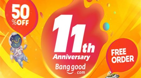 Joining Banggood's 11th Anniversary Shopping Carnival!