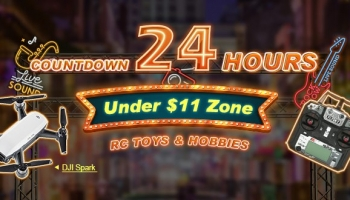 24 Hours Cutdown at Banggood for RC Toys & Hobbies has Began
