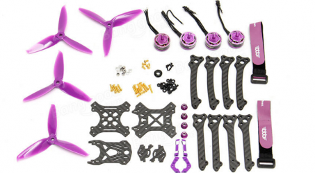 3B-R 211 211mm 215mm Wheelbase FPV Racing Frame Combo