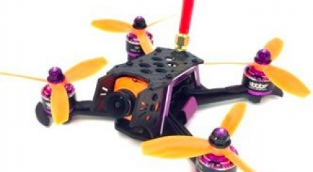 3BR-128 128mm Carbon Fiber FPV Racing Frame