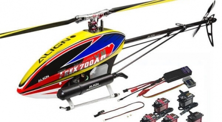 ALIGN T-REX 700XN Helicopter Dominator Combo
