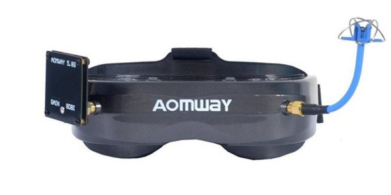 AOMWAY Commander V2 64CH 1080P FPV Goggles