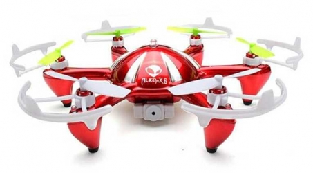 ROA Alien X6S With 2MP HD Camera RC Hexacopter