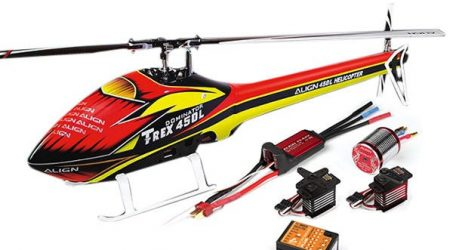 Align T-REX 450L TOP 450LP RC Helicopter Combo