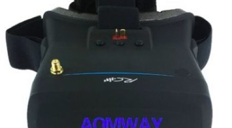 Aomway VR Goggles V1 800×480 5 Inch FPV Video Glasses Headset