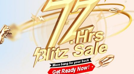 Do you Get Ready for the 72 Hours Blitz Sale at Banggood