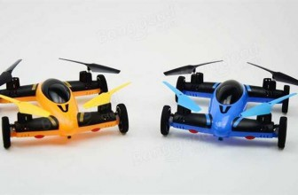 CG038 2 in 1 2.4G 8CH 6-Axis RC Quadcopter Car
