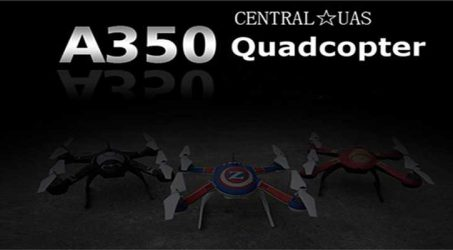 Central UAS A350  FPV GPS Mode Drone With 6MP Camera