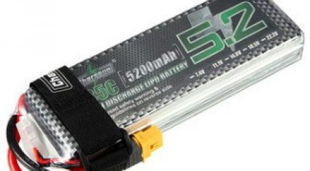 Charsoon 11.1V 5200mAh 3S 35C Lipo Battery