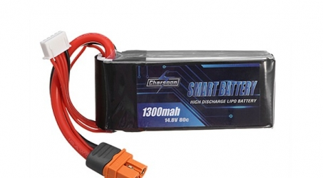 Charsoon BattGo 14.8V 1300mah 80C 4S Smart Lipo Battery