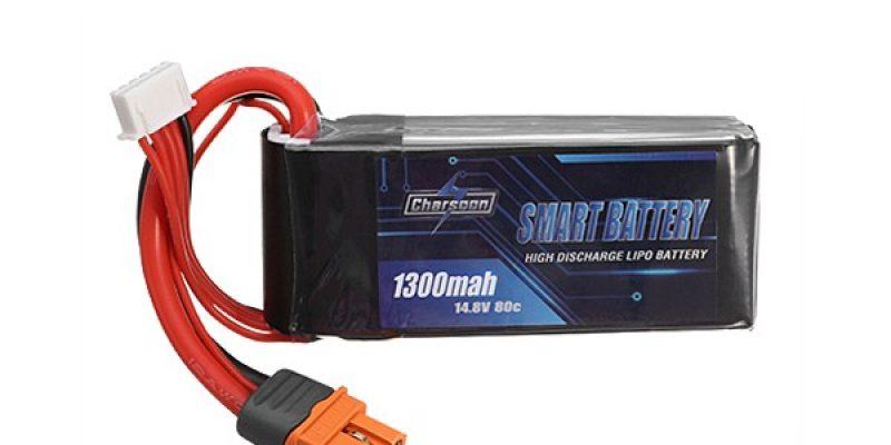 Charsoon BattGo 14.8V 1300mah 80C 4S Smart Lipo Battery
