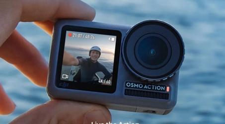 DJI Osmo Action Dual Screen Camera 4K HDR Video Camera