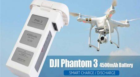 DJI Phantom 3 4500mAh 15.2V 4S Intelligent Flight Battery