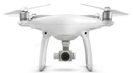 DJI Phantom 4 Quadcopter With 4K HD Camera Avoid Obstacles Automatically