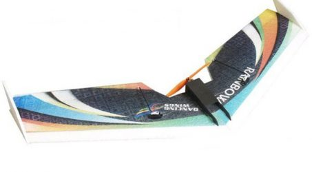DW HOBBY Rainbow Flying Wing RC Airplane KIT