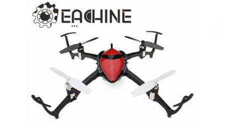 Eachine 3D X4 Drone unboxing and quick testing