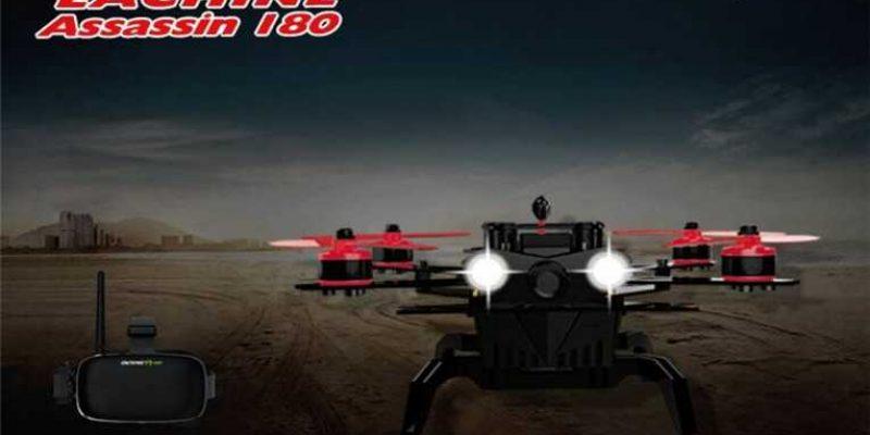 Eachine Assassin 180 FPV w/Eachine VR-007 HD Goggles
