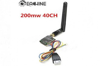 Eachine FPV 5.8G 40CH Mini AV Transmitter with RaceBand
