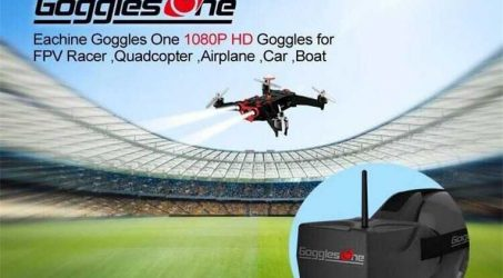Eachine Goggles One 5 Inch FPV Goggles Video Glasses