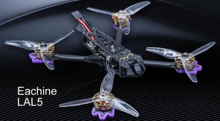 Eachine LAL5 225mm 5 Inch 4K 6S FPV Racing Drone PNP