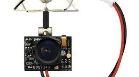 Eachine TX01 Super Mini AIO 600TVL 1/4 Cmos FPV Transmitter Camera