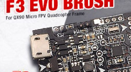 SP RACING F3 EVO Brush Flight Control For Micro FPV Frame