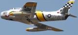F86 Sabre RC Airplane