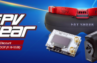 FPV Gear for Sale at Banggood: 20% Off Discount