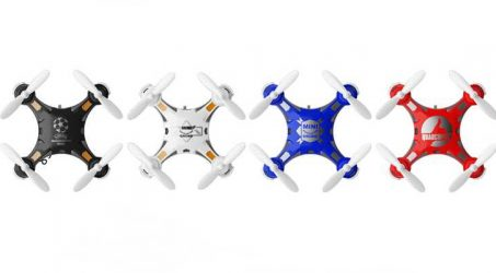 FQ777-124 Pocket Drone With Switchable Controller