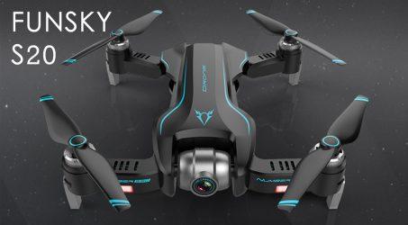 FUNSKY S20 WIFI FPV RC Drone Quadcopter