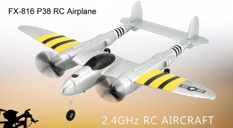 FX-816 P38 RC Airplane