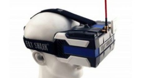 Fatshark FSV1104 5.8G 720P FPV Goggles Headset
