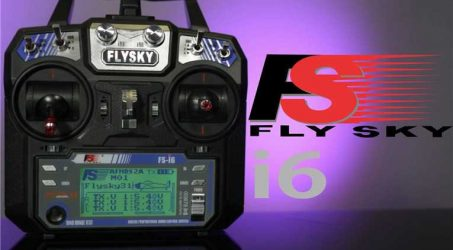 FlySky FS-i6 Transmitter With FS-iA6 Receiver