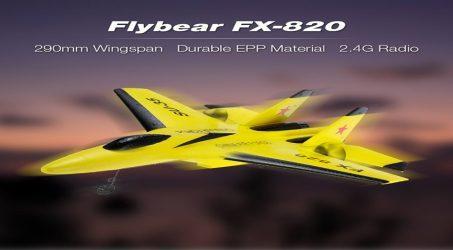 Flybear FX-820 2.4G 2CH RC Airplane RTF