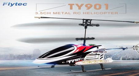Flytec TY901 3.5CH Metal RC Helicopter