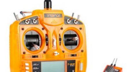 FsFly T-six 2.4GHz Transmitter With Redcon CM703 DSM2 Receiver