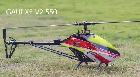 GAUI X5 V2 550 RC Helicopter Kit