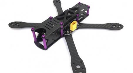 GE-FPV GE-5 V2.0 225mm FPV Racing Frame Kit