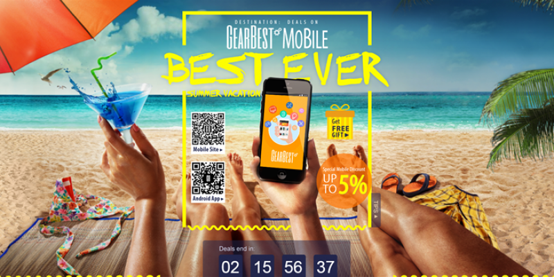 GearBest – 2016 Summer Biggest Promotion Deals