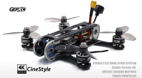 Geprc CineStyle 4K 144mm Stable Pro F7 3 Inch FPV Racing Drone