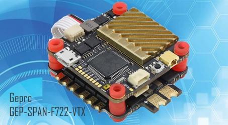 Geprc GEP-SPAN-F722-VTX 4in1 ESC Stack