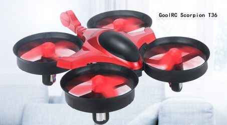 GoolRC Scorpion T36 Mini Drone – Red