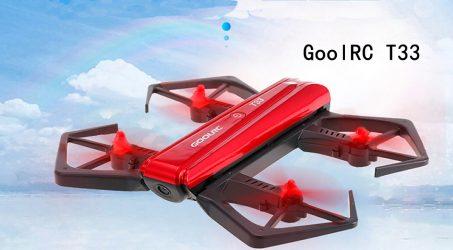 GoolRC T33 Wifi FPV 720P HD RC Quadcopter – RTF
