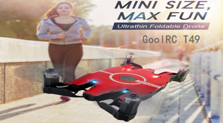 GoolRC T49 WIFI FPV 720P MINI RC Quadcopter RTF
