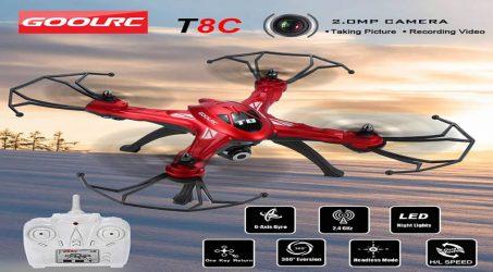 GoolRC T8C RC Quadcopter – Red