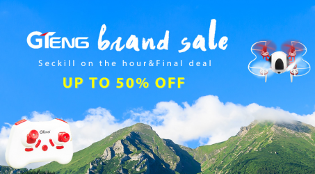 Gearbest : GTeng Brand Sale of One Hour Seckill Save Up to 50% Off