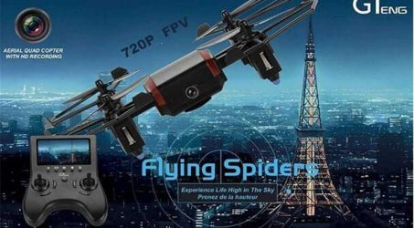 Guiteng T901F 5.8G FPV Quadcopter With 2MP 720P Camera