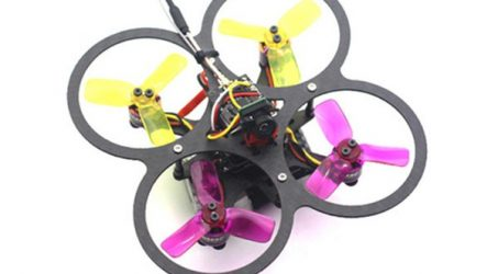 HSK90 90mm Micro Brushless RC Racing Drone BNF