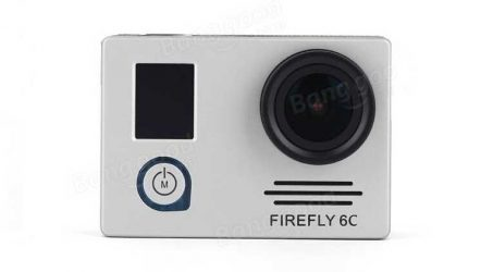 Hawkeye Firefly 6C 4K 12MP 140 Degree Ultra HD Sport Camera