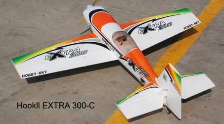 Hookll EXTRA 300-C EPO RC Airplane Kit